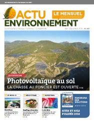 Actu-Environnement Le Mensuel N°386